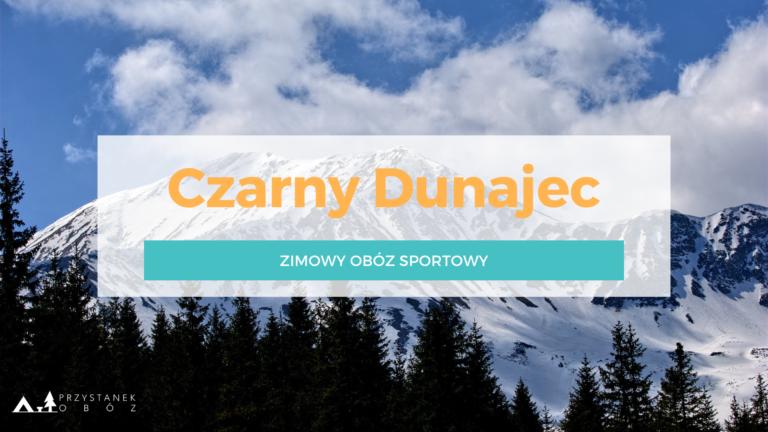 CZARNY DUNAJEC Zima 2022